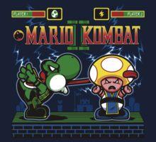 Mario Kombat II One Piece - Short Sleeve