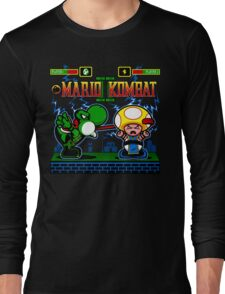 Mario Kombat II Long Sleeve T-Shirt