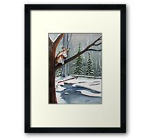 Daybreak Hunt Framed Print