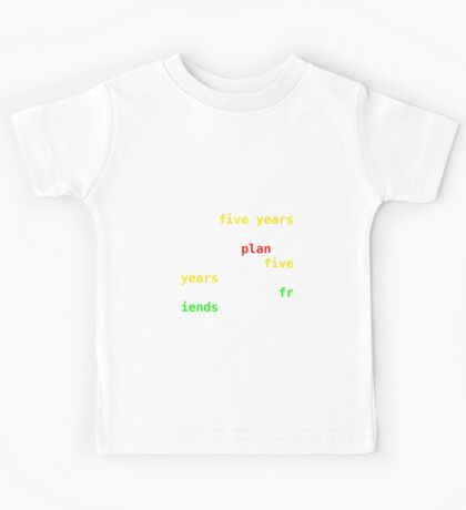 Where Are Your Friends Tonight? Kids Tee
