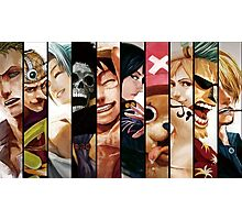 Monkey D. Luffy Pirates Photographic Print