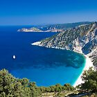 Myrtos Beach, Kefalonia, Greece by CPProPhoto