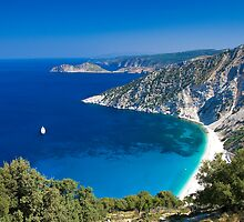Myrtos Beach, Kefalonia, Greece by CPProPhoto