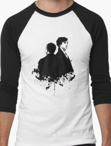 Consulting Detectives Men's Baseball ¾ T-Shirt
