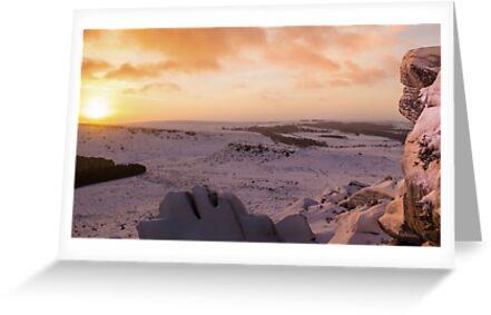 Hathersage Moor Sunrise by John Dunbar