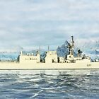 HMCS Fredericton by Shawna Mac by Shawna Mac