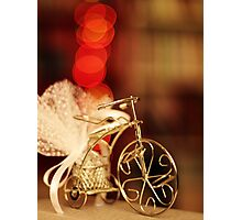 Bokeh Bicycle Photographic Print