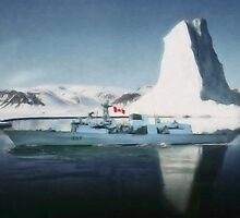 HMCS Fredericton V2 by Shawna Mac by Shawna Mac