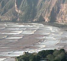 Winter seas at Sidmouth by Greybeard