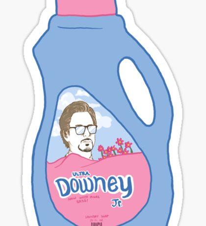 Ultra Downey Sticker