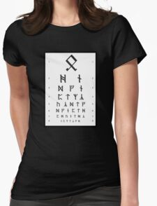 Bilbo's Eye Appointment Womens Fitted T-Shirt
