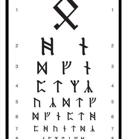 Bilbo's Eye Appointment Sticker