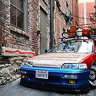 Honda CRX  by Ty  Cobb