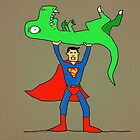 Super Dino Lift by TDCartoonArt