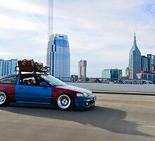 Honda CRX  by Ty  Cobb
