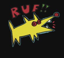 Poinky Ruf!! (Dawg for dark colored T-shirt) Kids Tee