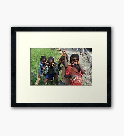 fun Framed Print