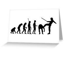 Clockwork Orange Evolution T Shirt Greeting Card