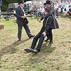 Sherifs against V/S The Daltons 07   (c)(h) by Olao-Olavia / Okaio Créations fz 1000 - 2014 by Olivier Caillaud