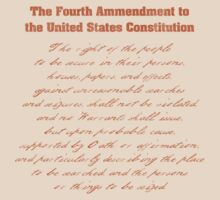 Fourth Amendment to the Constitution by AngryMongo