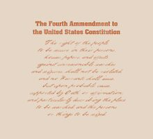 Fourth Amendment to the Constitution Unisex T-Shirt