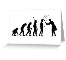 American Psycho Evolution T Shirt Greeting Card