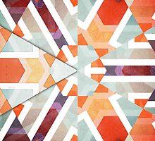 Orange Geometry of Three by Phil Perkins