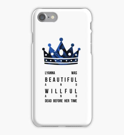 Queen Lyanna iPhone Case/Skin