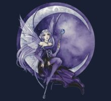 Purple Moon Fairy by meredithdillman