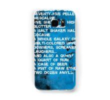 Fear and Loathing Minima Samsung Galaxy Case/Skin