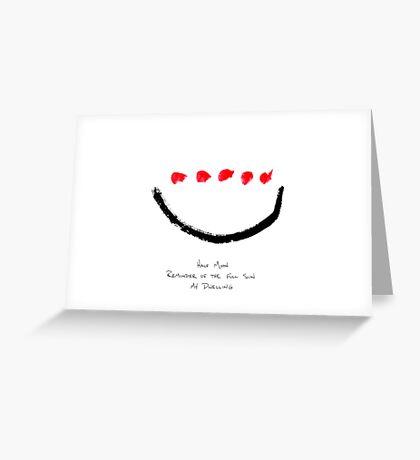 HAIGA XVIII  Greeting Card