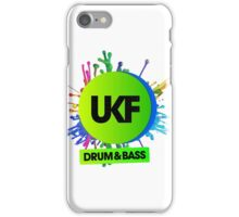 UKF-Drum And Bass iPhone Case/Skin