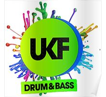 UKF-Drum And Bass Poster