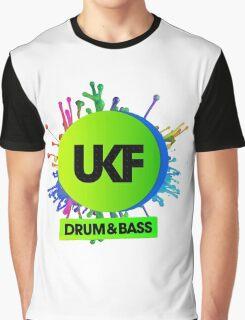 UKF-Drum And Bass Graphic T-Shirt