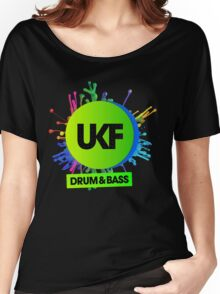 UKF-Drum And Bass Women's Relaxed Fit T-Shirt
