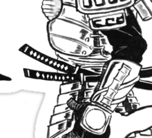 Iron man - Samurair Man of Iron Sticker