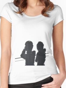 The Tourist  Women's Fitted Scoop T-Shirt
