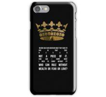 King Viserys iPhone Case/Skin