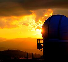 Stromlo Sunset - HDR  by peterhau