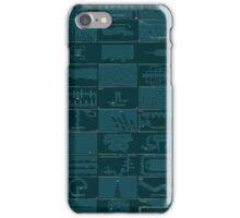 N++ Levels - Blue iPhone Case/Skin
