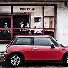 Ghosts in the Pier Head Cafe and Mini, Swanage by herbpayne