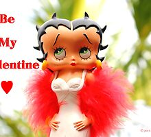 Betty Boop Valentine - Day by Larry Beat