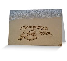 18th birthday Greeting Card