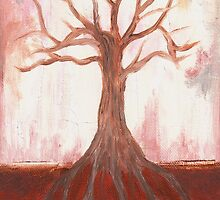 Tree Sketch (Emergence) by Therese Doherty