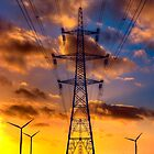 Seamer Wind Farm by Darren Allen