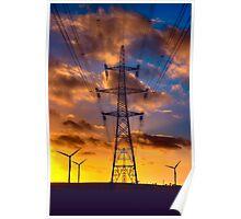 Seamer Wind Farm Poster