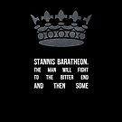 King Stannis by sophiestormborn