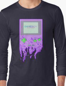 Dripping Gameboy Long Sleeve T-Shirt
