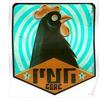 Psycho Chicken Negro GBRC Poster