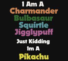 I'm A Pikachu by Mymicromuse
